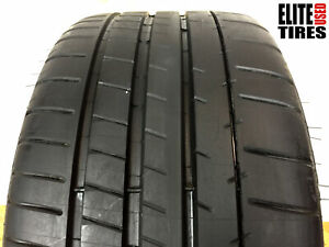 1 Michelin Pilot Super Sport P255 35zr18 255 35 18 Tire Driven Once