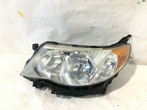2009 2010 2011 2012 2013 Subaru Forester Driver Left Headlight Halogen Oem