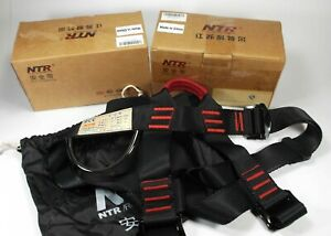 Ntr Zyp01 Climbing Safety Half Body Harness Rappelling Caving Belt Qty 2