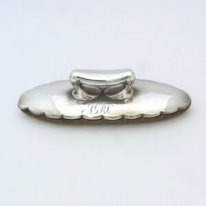 Antique Tiffany Co Sterling Silver Nail Buffer 1890s