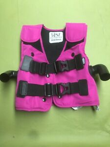 Hill rom The Vest Airway Clearance System Vest child Small C3 Great Shape