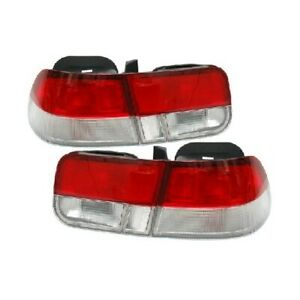 Depo Tail Lamp Left Right For Honda Civic Coupe 1996 98