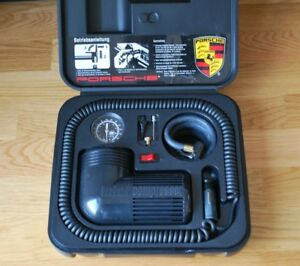 Porsche Original Vintage Tire Air Compressor Complete Works
