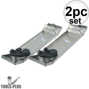Kraft Tool Cc162 28 X 8 Concrete Knee Boards Stainless Steel Lightweight New