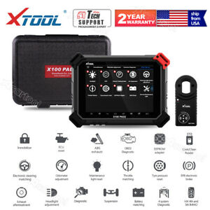 Us Xtool X100 Pad2 Pro Car Programmer With Kc100 For 4th 5th Immo Auto Scan Tool