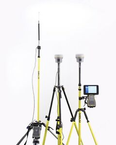 Trimble Dual R10 Gnss Gps Base rover Receiver Kit Tsc7 Access Tdl 450h Radio
