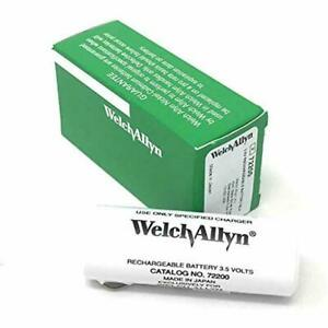 Genuine Welch Allyn 72200 3 5v Battery For Welch Allyn 71000 71670 60835 New