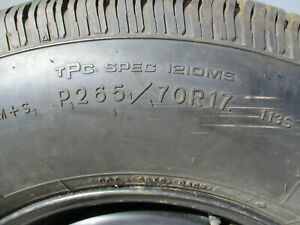 2006 2015 Chevy Truck Oem 17 Wheel And Tire