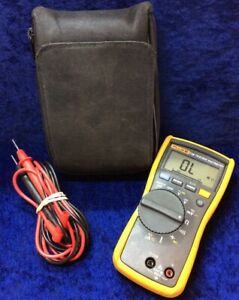 Fluke 116 True Rms Multimeter W Leads And Case Great
