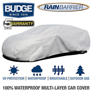 Budge Rain Barrier Car Cover Fits Chevrolet Camaro 2012 Waterproof Breathable