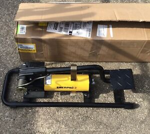 Enerpac New P392fp Hydraulic Foot Pump 2 Speed 10 000 Psi