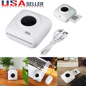Portable Bluetooth Wireless Phone Thermal Receipt Photo Printer For Android Ios