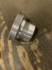 Polished 6 Rib Vortech Crank Pulley Foxbody 87 93 Mustang Boost Supercharged