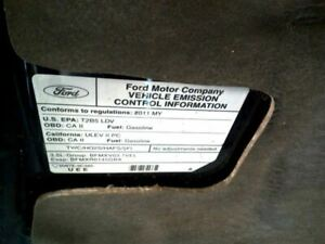 10 11 12 Ford Taurus Steering Column Floor Shift Tilt Collapsible 210175