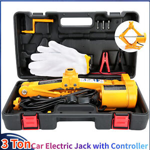 3ton 6600lb Capacity Car Jack 12v Electric Automotive Car Floor Jack Us Shipping