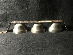 Antique Old General Store Shop Nickel Door Bells Lowered 30 Only 20 00