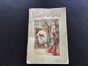Cinderella Pop Up Book Triumph Edition Germany Old Tissue Paper
