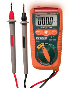 Extech Dm220 Cat Iv Mini Pocket Multimeter With Non contact Voltage Detector