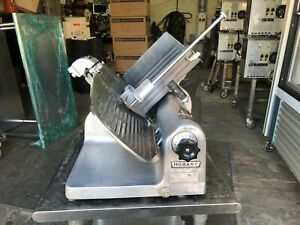 Hobart 1612e Commercial Deli Cheese Cold Cut Meat Slicer 12 Blade Used