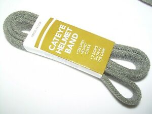 Gray Military Reflective CATS EYE BAND Helmet Pasg t Mich Ach