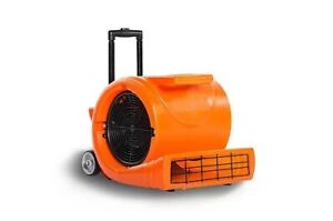Air Mover Blower Carpet Dryer Industrial Commercial W Handle Wheels 5000cfm