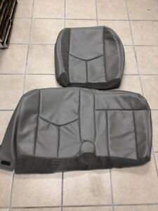 2003 2006 Avalanche Silverado Sierra Rear Seat 60 40 Bench Bottom Seat Cover