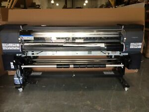 64 Hp Designjet 9000s Digital Wide Format Printer q6665a As is parts Only