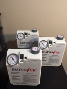 Precision Medical Easy Go Vac Aspirator Model Pm65 With New Battery