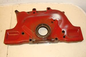 International Ih Farmall 756 Front Timing Cover 706 806