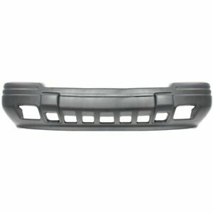 Front Bumper Cover For 1996 1998 Jeep Grand Cherokee W Fog Light Holes Primed