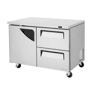 Turbo Air Tur 48sd d2 n 48 In 2 drawer Undercounter Refrigerator