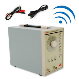 110v Rf Radio Frequency Signal Generator High Frequency 100 Khz To 150mhz 2 5kg