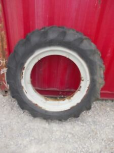 Ford 9n 2n Tractor Hub 11 2 X 28 45 Good Year Tread Tire Ferguson Rim