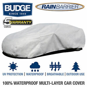 Budge Rain Barrier Car Cover Fits Ford Mustang 1987 Waterproof Breathable