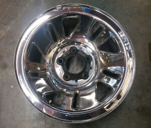 1998 2007 Ford Explorer Mazda Truck 15 Factory Oem Chrome Clad Wheel Rim 3259