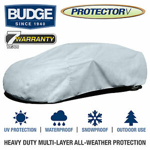 Budge Protector V Car Cover Fits Ford Mustang 2013 Waterproof Breathable
