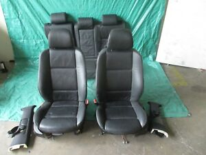 00 01 02 03 04 05 06 Bmw X5 Driver Passenger Front Rear Leather Seat Set Oem