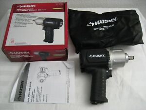 Husky Air Impact Wrench 1 2 Inch High Low Torque 800 Ft lbs New