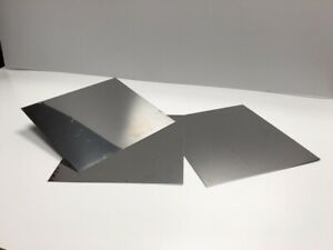 Stainless Steel Sheet 26 Gauge Brightly Polished On One Side 10 X 9