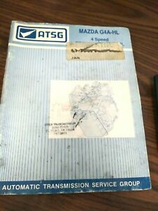 For Mazda G4a Hl Automatic Transmission Technical Repair Manual