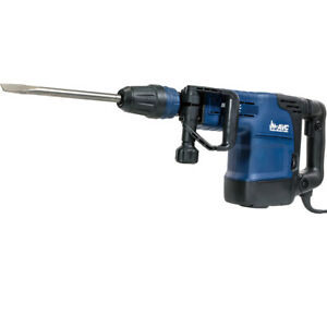 1500w Rotary Hammer Drill Variable Speed Sds max 2 bit Flat Chisel With Case