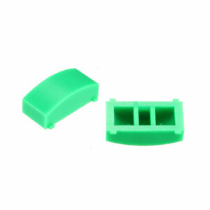 50pcs 12 4x4 5mm Tact Switch Caps Cover Green For 8x8 Latching Pushbutton Switch