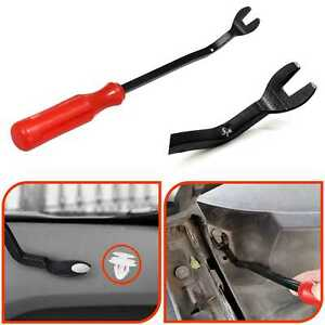 Car Door Panel Remover Body Retainer Clip Auto Trim Upholstery Pry Tool 5873