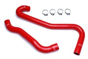 Hps Red Reinforced Silicone Radiator Hose Kit Coolant For Jeep 06 08 Grand