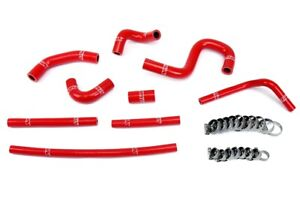 Hps Reinforced Red Silicone Heater Hose Kit Coolant For Toyota 96 02 4runner