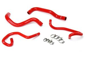 Hps Red Reinforced Silicone Radiator Heater Hose Kit For Toyota 05 18 Tacoma