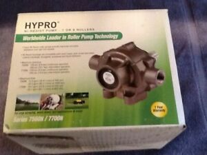 New Hypro 7 Or 8 Roller Ni resist Sprayer Pump 7560n