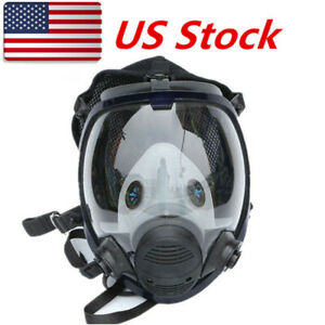 Full Face Dust Gas Mask For 6800 Facepiece Painting Spraying Protect Respirator