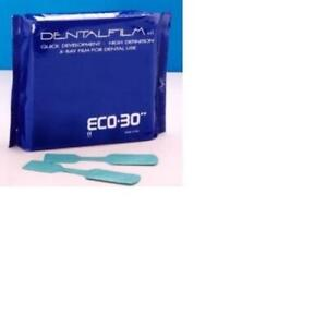 Dental Xray Film 50pcs Ergonom x Self Developing X ray Films Eco 30 1x