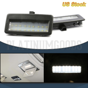 2 Led Vanity Mirror Sun Visor Lights Lamps For Bmw 5 7 Series Error Free White